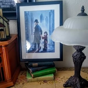 Charlie Chaplain The Tramp Print Renate Holtzner